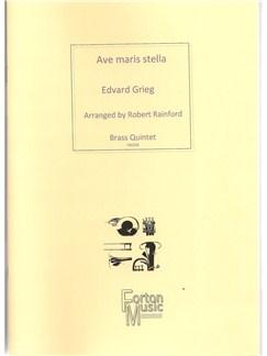 Edvard Grieg: Ave maris stella Books | Brass Quintet