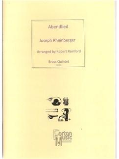 Josef Rheinberger: Abendlied Op69 no 3 Books | Brass Quintet