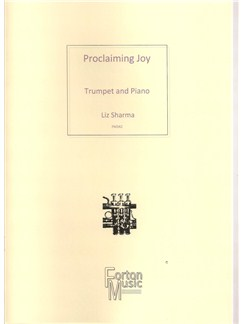 Liz Sharma: Proclaiming Joy Books | Trumpet, Piano Accompaniment