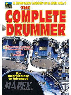 The Complete Drummer: A Complete Lesson In A Box Vol 2 DVDs / Videos | Drums