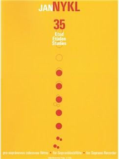 Jan Nykl: 35 Studies For Descant Recorder Books | Soprano (Descant) Recorder