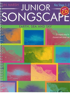 Lin Marsh: Junior Songscape - Earth, Sea & Sky Books and CDs | Voice, Piano Accompaniment