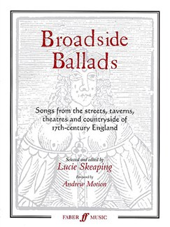 Broadside Ballads Books | Melody Line, Lyrics & Chords