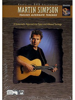Martin Simpson Teaches Alternate Tunings (Book/DVD) Books and DVDs / Videos | Guitar