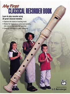 My First Classical Recorder Book Libro | Flauta dulce