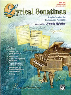 Lyrical Sonatinas Book One Books | Piano