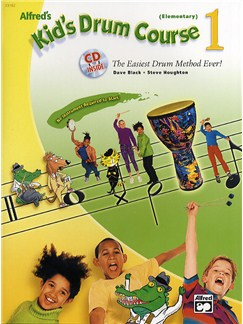 Alfred's Kid's Drum Course 1 (Book/CD) Books and CDs | Drums, Percussion