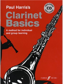 Paul Harris Clarinet Basics (Book/CD) Books and CDs   Clarinet