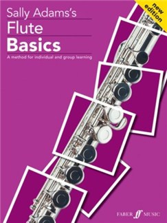 Sally Adams: Flute Basics (Pupil's Book/CD) Books and CDs | Flute