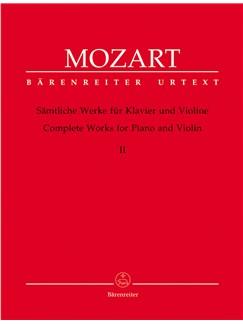 W.A. Mozart: Complete Works For Violin And Piano - Volume 2 Books | Violin, Piano Accompaniment