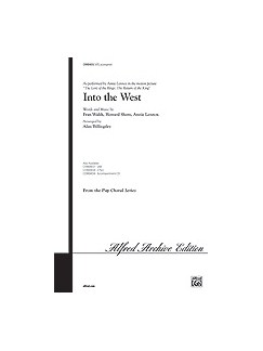 Annie Lennox: Into the West (The Lord of the Rings: The Return of the King) - SATB Books | SATB