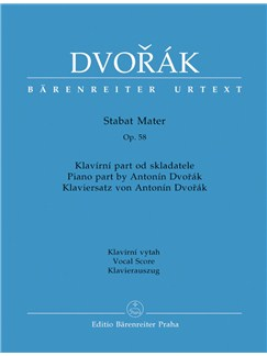 A Dvořák: Stabat Mater Op.58 Books   Orchestra