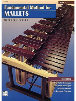 Fundamental Method For Mallets Book 1 Books | Percussion