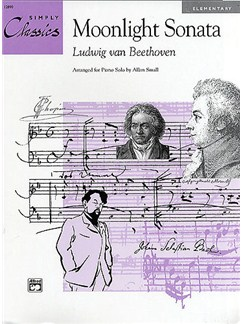 Ludwig Van Beethoven: Moonlight Sonata Books | Piano