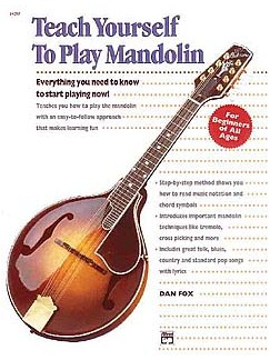 Dan Fox: Teach Yourself To Play Mandolin Books | Mandolin