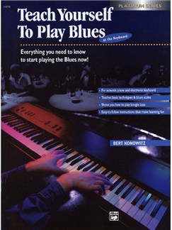 Teach Yourself To Play Blues At The Keyboard Books | Keyboard