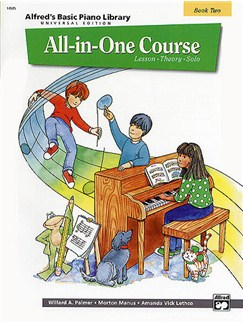 Alfred's Basic Piano Library: All-In-One Course Book Two Books | Piano