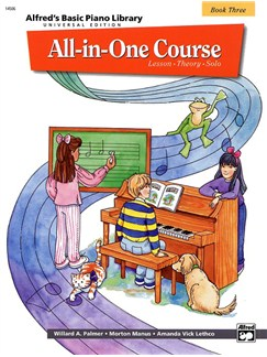 Alfred's Basic Piano Library: All-In-One Course Book 3 Books | Piano
