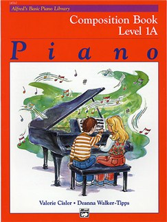 Alfred's Basic Piano Library Composition Book Level 1A Books | Piano