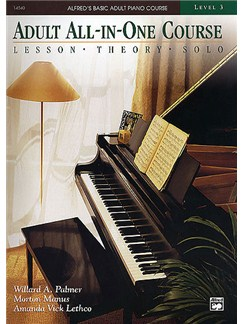Alfred's Adult All-In-One Course Level Three Books | Piano