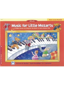 Music For Little Mozarts - Music Lesson Book 1 Books | Piano