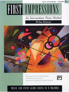 First Impressions: An Intermediate Piano Method (Early Intermediate B) Books | Piano