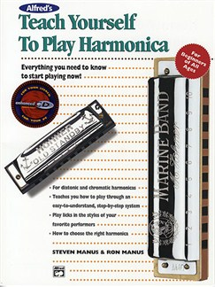 Teach Yourself To Play Harmonica (Enhanced CD Edition) Books and CDs | Harmonica
