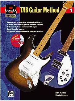 Basix: Tab Guitar Method Book 1 Books and CDs | Guitar Tab