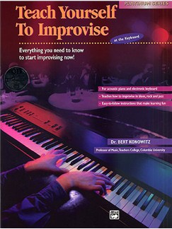 Teach Yourself To Improvise At The Keyboard (Book/CD) Books and CDs | Keyboard