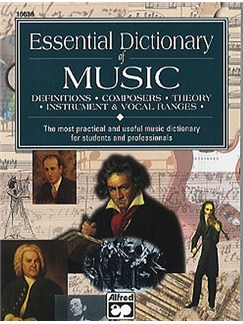Alfred's Essential Dictionary Of Music Books | None selected