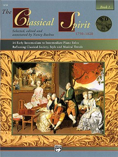 The Classical Spirit Book 1 Books and CDs | Piano