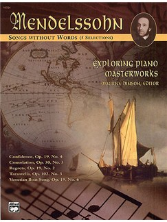 Felix Mendelssohn: Songs Without Words Books | Piano