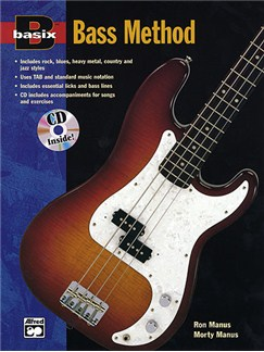 Basix Bass Method Books and CDs | Bass Guitar