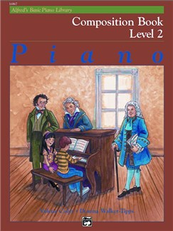 Alfred Basic Piano Composition: Level 2 Books | Piano