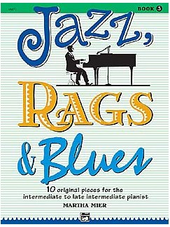 Martha Mier: Jazz, Rags And Blues Book 3 Books | Piano