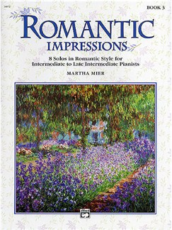 Martha Mier: Romantic Impressions Book 3 Books | Piano