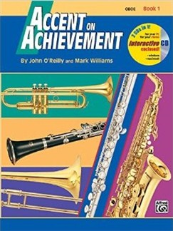 John O'Reilly And Mark Williams: Accent On Achievement - Book 1: Oboe (Book/CD) Books and CDs | Oboe