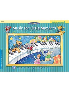Music For Little Mozarts: Music Lesson Book 3 Books | Piano