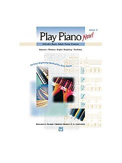 Alfred's Basic Adult Piano Course - Play Piano Now! Book 1 Books | Piano