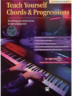 Teach Yourself Chords And Progressions (Book/CD) Books | Keyboard