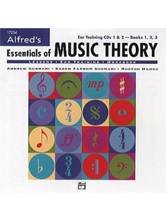 Alfred's Essentials Of Music Theory (CD) CDs |
