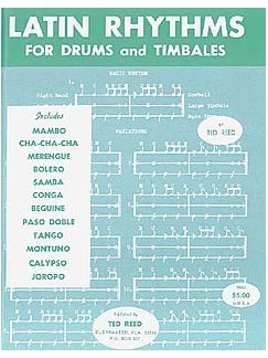 Latin Rhythms For Drums And Timbales Books | Drums and Timbales