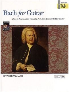 J.S. Bach For Guitar Books | Guitar Tab