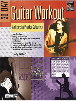 30-Day Guitar Workout Books | Guitar (with Chord Symbols)