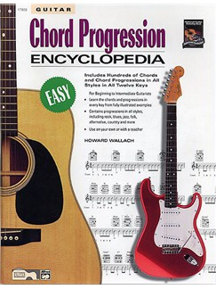 Guitar Chord Progression Encyclopedia Books | Guitar