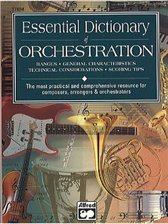 Essential Dictionary Of Orchestration Books | All Instruments
