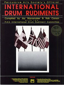 International Drum Rudiments Books and CDs | Drums