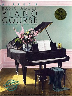 Alfred's Adult Piano Course Lesson Book Level 2 (CD Edition) Books and CDs | Piano