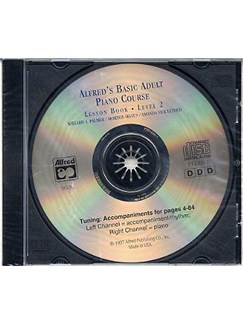 Alfred's Adult Piano Course Lesson Book Level 2 (CD) CDs | Piano