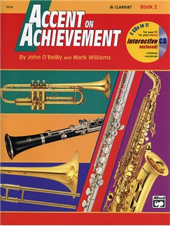 Accent On Achievement: B Flat Clarinet Book 2 (Book/CD-Rom) Books | Clarinet